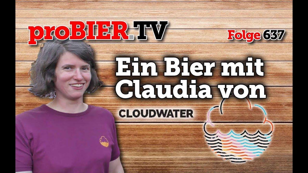 Ein Bier mit Claudia von Cloudwater
