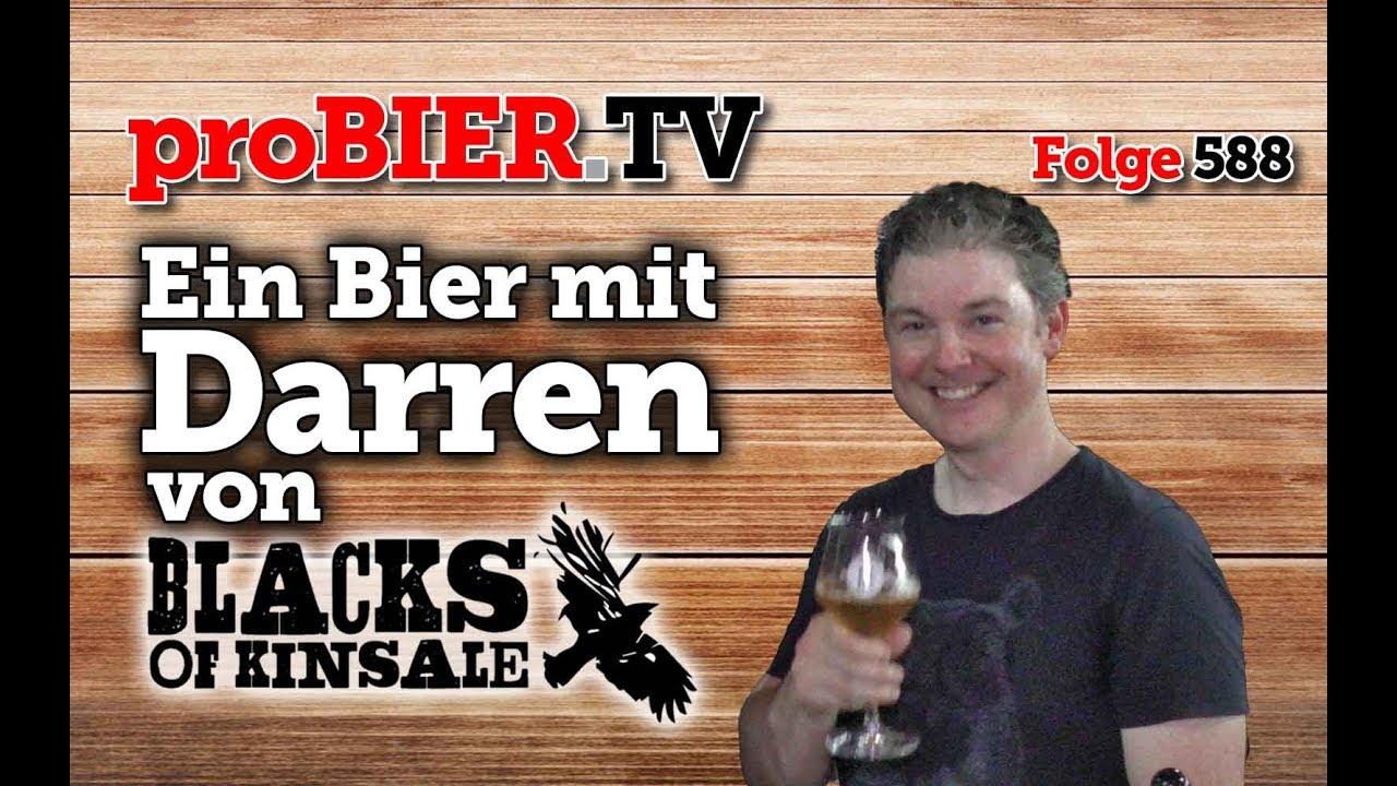 Ein Bier mit Darren Murphy von Blacks Brewing