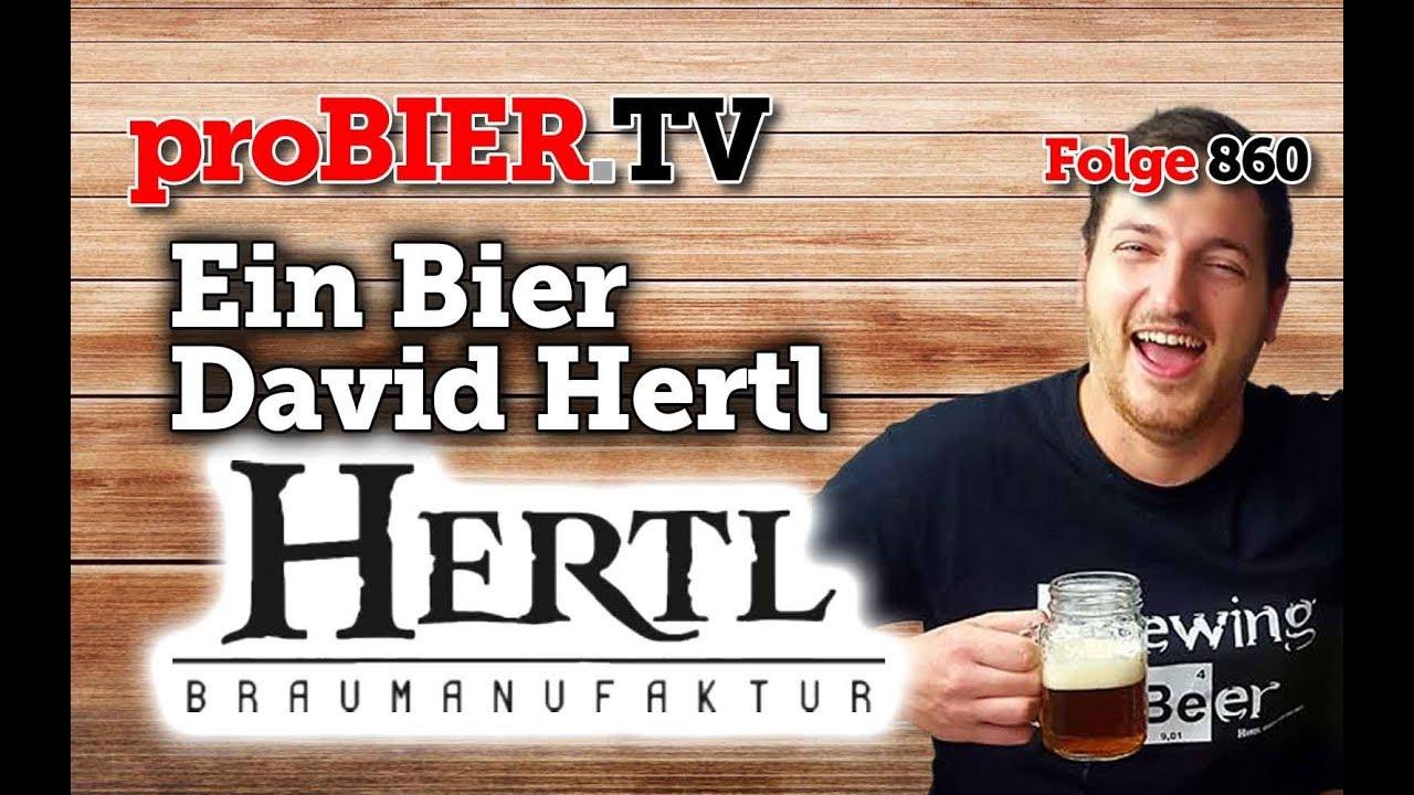 Ein Bier mit David Hertl