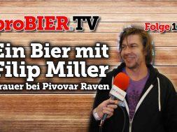 Ein Bier mit Filip Miller von Pivovar Raven