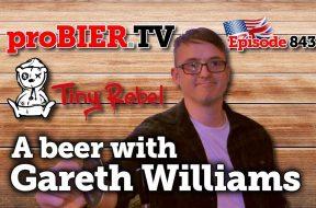 Ein Bier mit Gareth von Tiny Rebel