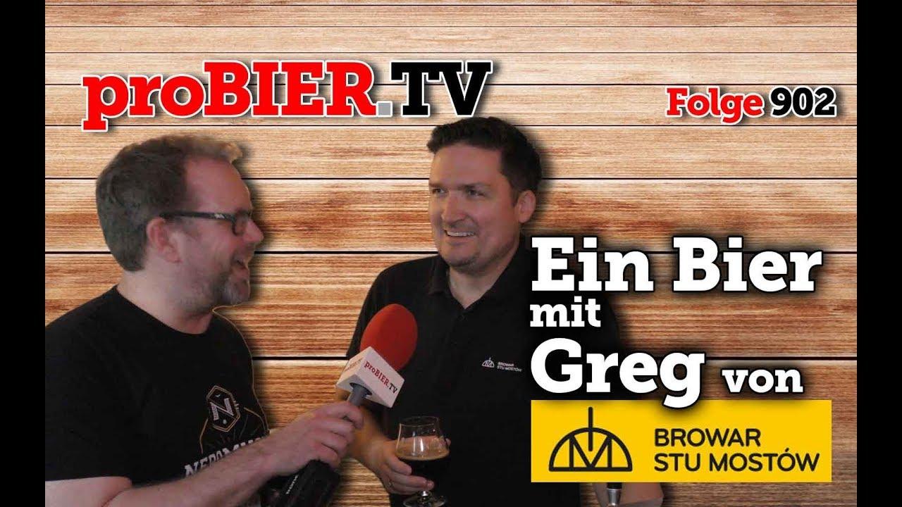 Ein Bier mit Greg – Browar Stu Mostow   proBIER.TV – Craft Beer Review #902 [4K]