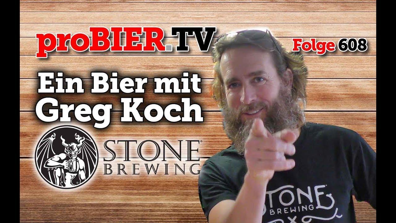 Ein Bier mit Greg Koch | proBIER.TV – Craft Beer Talk #608 [4K]