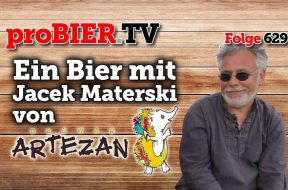 Ein Bier mit Jacek Materski von Browar Artezan