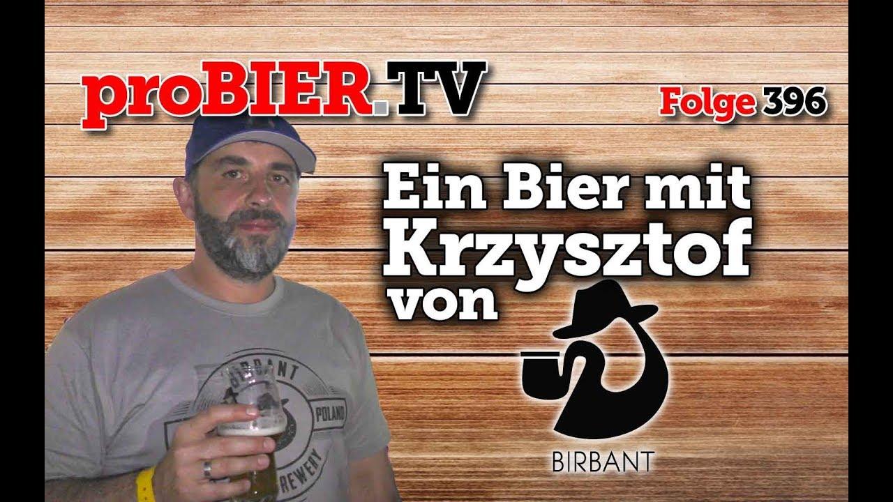 """Ein Bier mit """"Kuli"""" Krzysztof von Browar Birbant"""