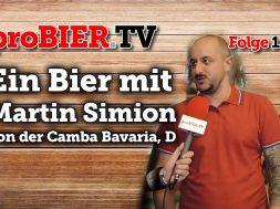 Ein Bier mit Martin Simion, Camba Bavaria, D