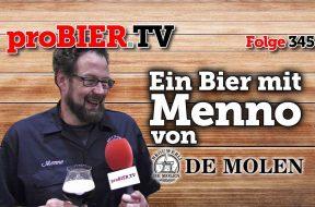 Ein Bier mit Menno von DeMolen
