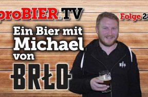Ein Bier mit Michael Lembke von BRŁO
