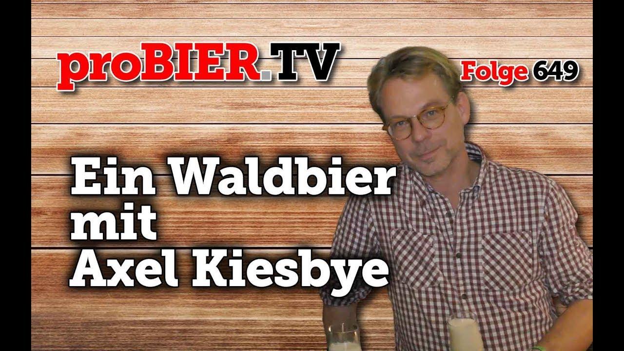 Ein (Wald-)Bier mit Axel Kiesbye