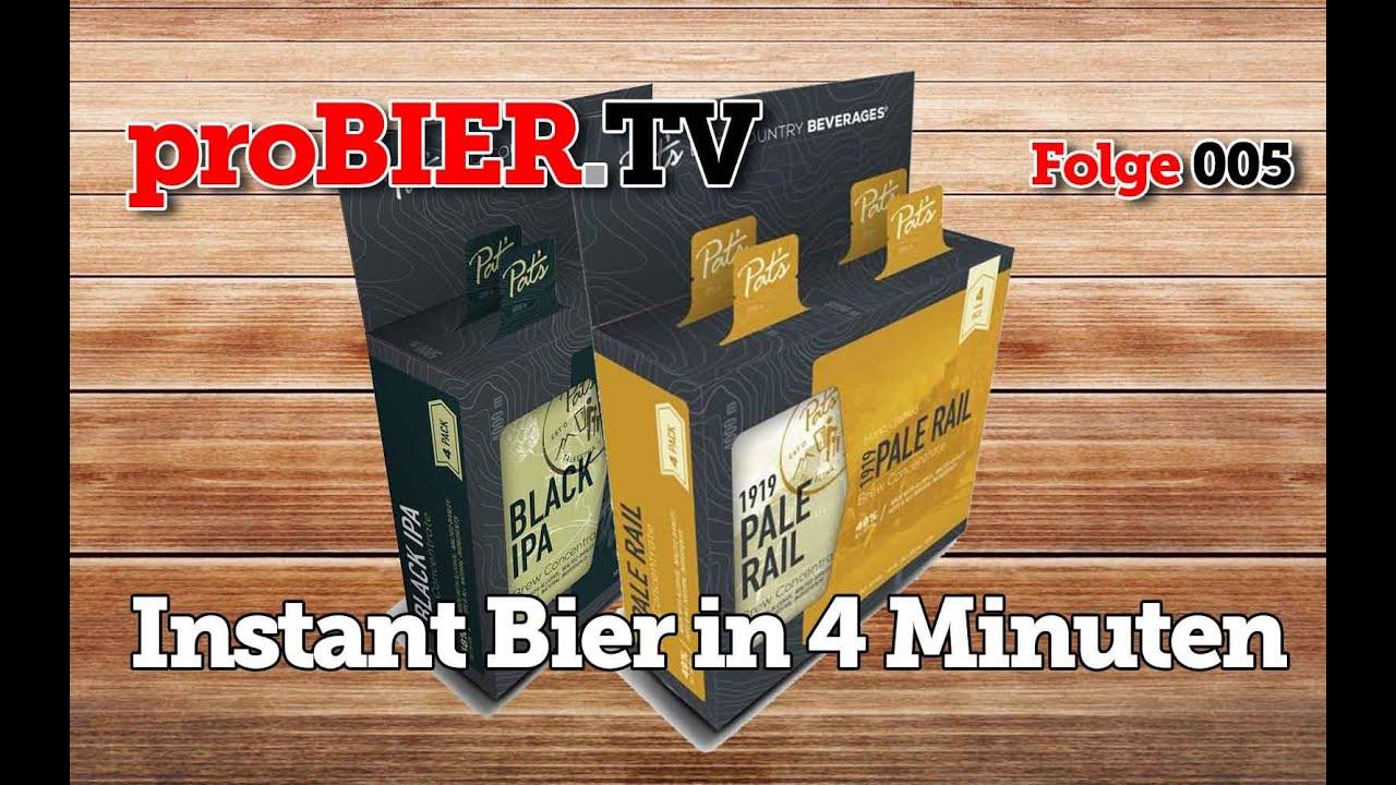 Erstmals in Österreich vorgestellt: INSTANT BIER [HD Video]