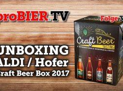 Exklusiver Preview – ALDI / Hofer Craft Beer Box