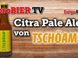 Fasten mit Citra Pale Ale von Tschöams