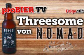 """Flotter Dreier """"Threesome"""" von Nomad aus dem Holzfass"""