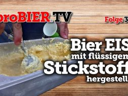 Flüssiger Stickstoff macht Biereis – Browar Profesja!