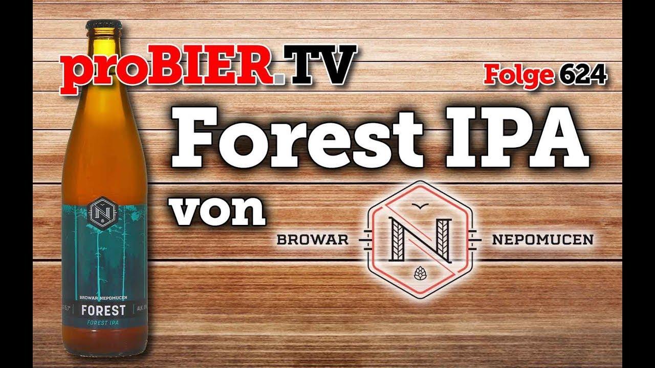 Forest IPA von Nepomucen   proBIER.TV – Craft Beer Review #624 [4K]