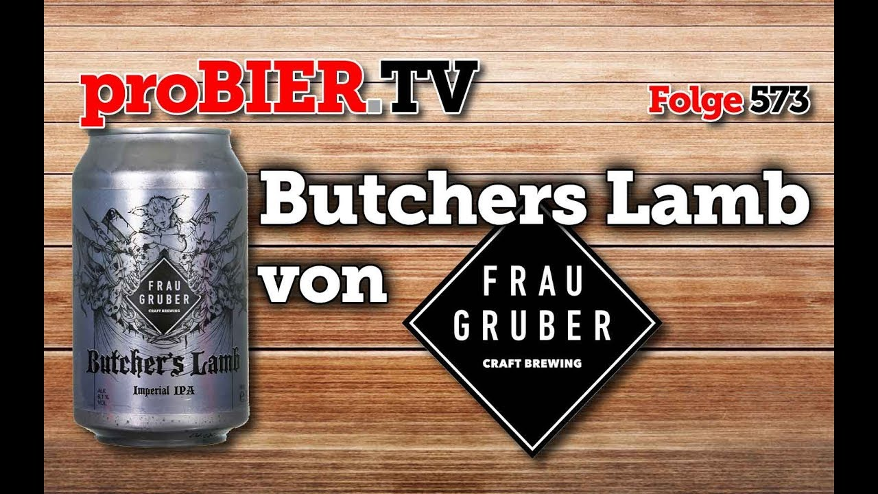 Frau Gruber Brewing mit imperialem Butchers Lamb