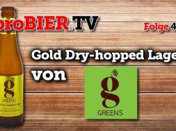 Gold Dry-Hopped Lager – Glutenfrei von Green´s
