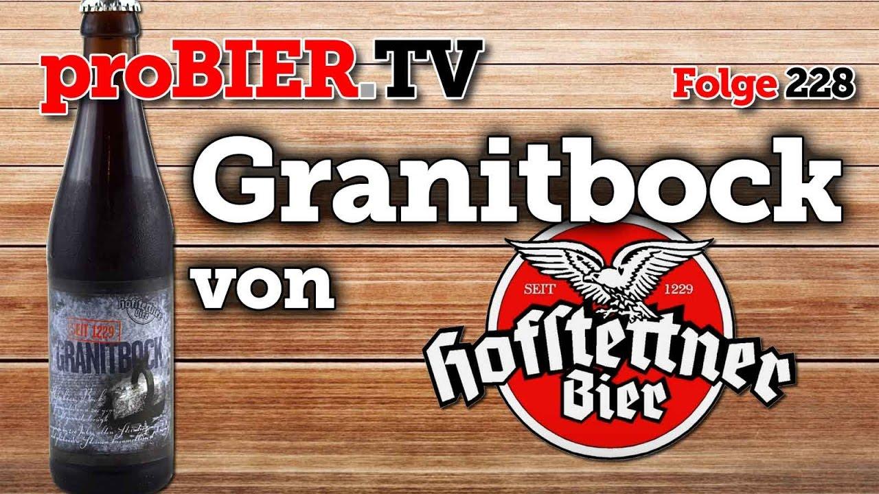 Granitbock – steiniges starkes Bier aus Hofstetten