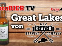 Great Lakes Pale Ale der Beaver Brewing Company