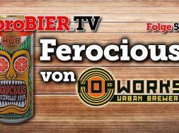 Grimmig: Ferocious Citrus IPA der Hopworks Urban Brewery