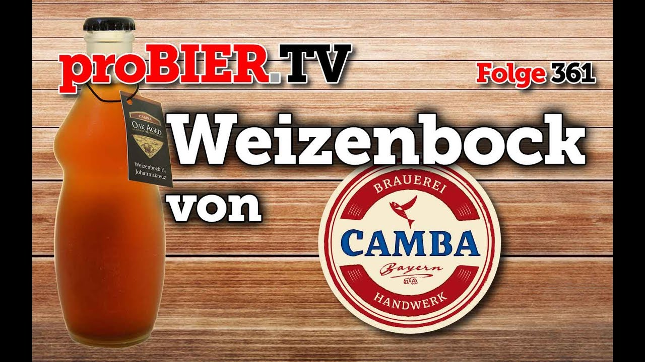 Großes Bier aus kleiner Flasche – Camba Bavaria Weizenbock Oak Aged