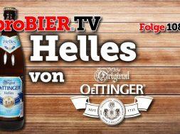 Helles von Oettinger | proBIER.TV – Craft Beer Review #1086 [4K]