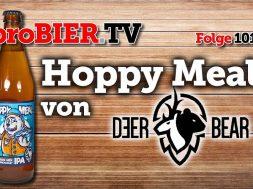 Hoppy Meal von Deer Bear | proBIER.TV – Craft Beer Review #1012 [4K]