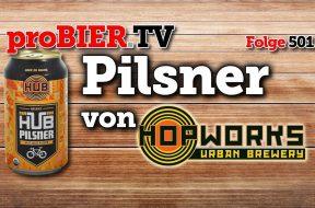 HUB Organic Pilsner – Das Portland Craftbeer Pils