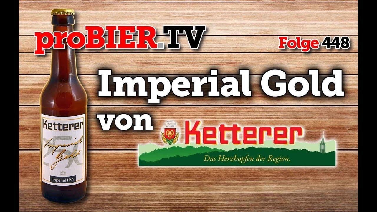 Imperial Gold IPA aus Pforzheim von Ketterer
