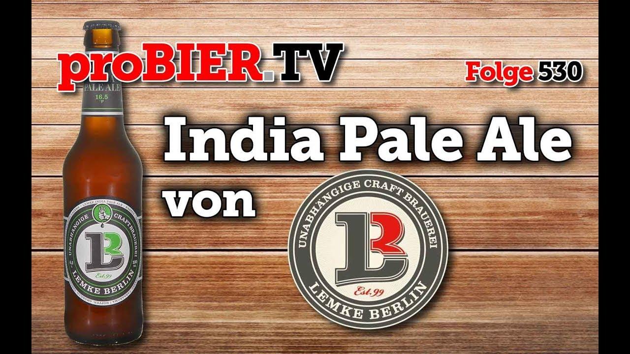 India Pale Ale aus dem Berliner Brauhaus Lemke
