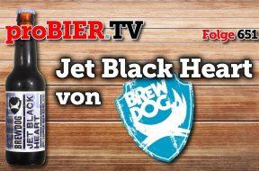 Jet Black Heart in der Hitze von Brewdog