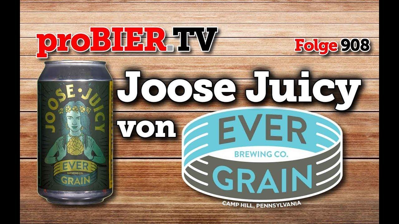 Joose Juicy von Ever Grain | proBIER.TV – Craft Beer Review #908 [4K]