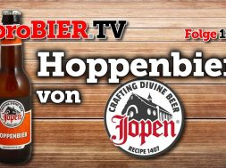 Kirchliches Bier – Hoppenbier von Jopen