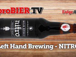 Left Hand Brewing – Nitro Milk Stout | HD-Video