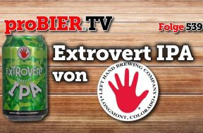 Lefthand Brewing hat das Extrovert IPA