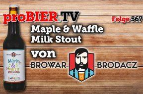 Maple Waffle Milk Stout von Browar Brodacz