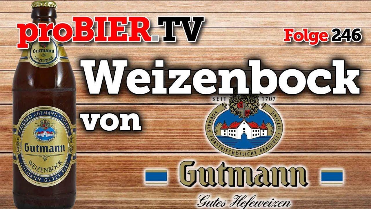 Mmmmh gut, mmmh Gutmann – Weizenbock