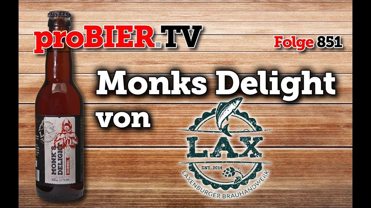 Monks Delight von LAX | proBIER.TV – Craft Beer Review #851 [4K]