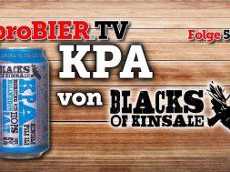 KPA von Blacks Brewing | proBIER.TV – Craft Beer Review #589 [4K]