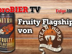 Nitro Fruity Flagship von Steamworks   proBIER.TV – Craft Beer Review #1004 [4K]