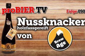 "Nussknacker Barley Wine – ""Barrel Brew Aged"""