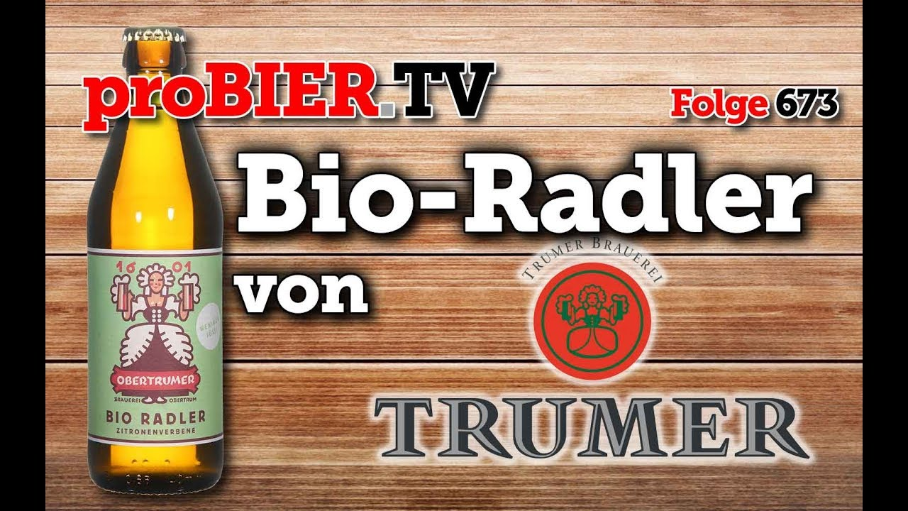 Obertrumer Bio Radler von Trumer   proBIER.TV – Craft Beer Review #673 [4K]