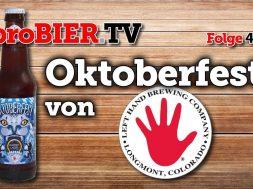Oktoberfest Märzen von Lefthand Brewing   proBIER.TV – Craft Beer Review #409 [4K]