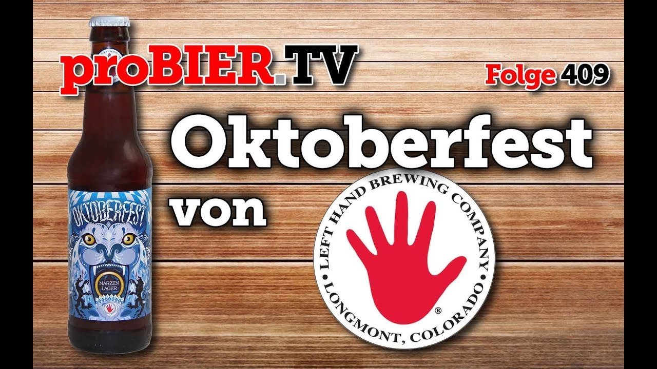 Oktoberfest Märzen von Lefthand Brewing | proBIER.TV – Craft Beer Review #409 [4K]