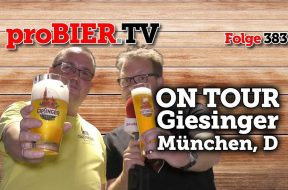 On Tour bei Giesinger Bräu in München