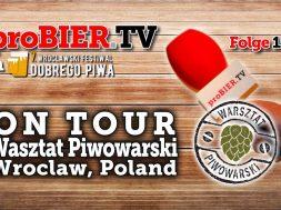 ON TOUR bei Warsztat Piwowarski, Wroclaw, Polen