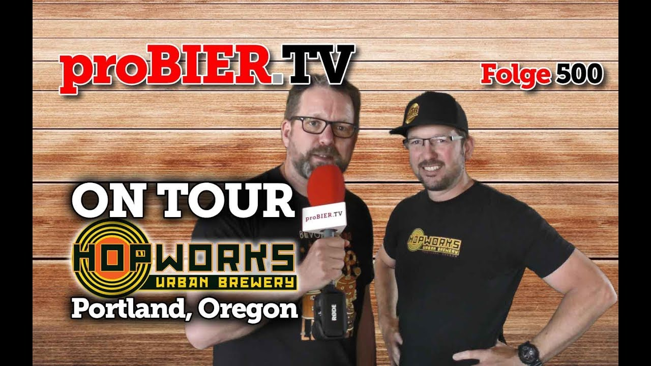 ON TOUR @ Hopworks Urban Brewery, Protland, OR