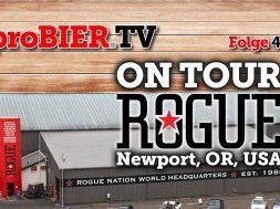 OnTour bei Rogue Ales & Spirits, Newport, OR, USA