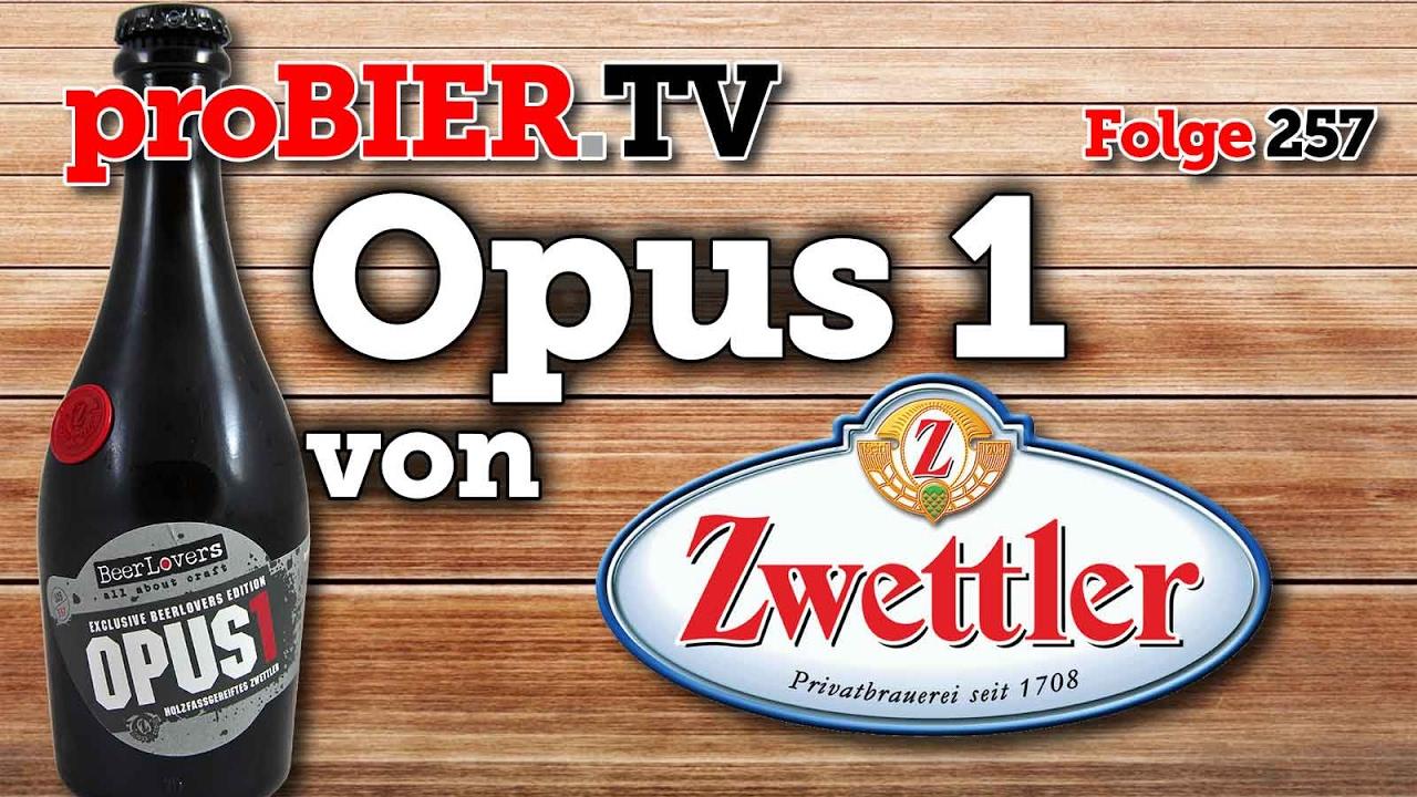 Opus 1 – Das Zwettler Geschenk zum 1.Beerlovers Geburtstag