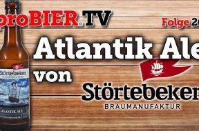 Ostseebrise – Atlantik Ale der Störtebeker Braumanufaktur